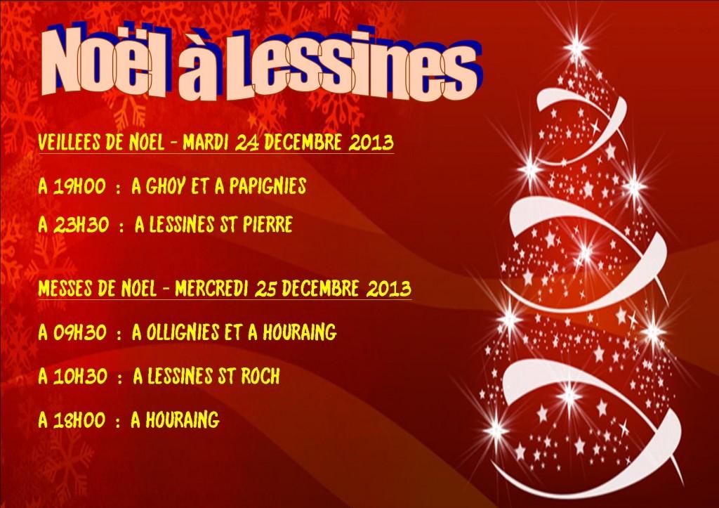 Affiche Noël 2013