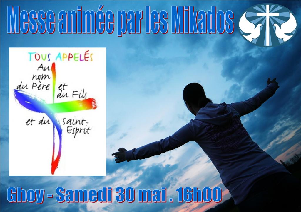 Affiche messe du 30.05.2015